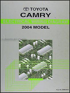 2004 Toyota Camry Wiring Diagram Manual Original