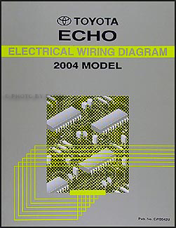 2004 Toyota Echo Wiring Diagram Manual Original