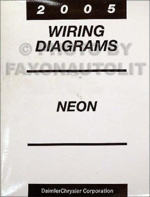 2005 Dodge Neon Wiring Diagram Manual Original