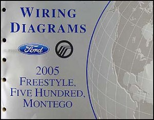 2005 Freestyle, 500, Montego Wiring Diagram Manual Original