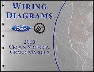 2005 Ford Crown Victoria Mercury Grand Marquis Wiring