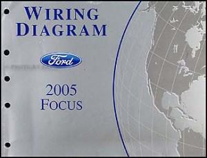 2005 Ford Focus Repair Shop Manual Original