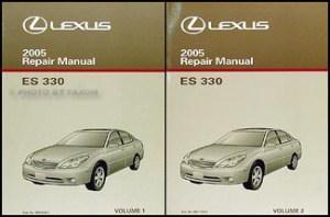 2005 Lexus ES 330 Navigation System Owners Manual Original