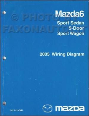 2005 Mazda6 Original Wiring Diagram