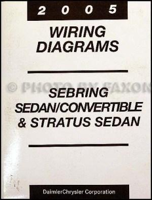 2005 Mopar Stratus Sebring SedanCovertible Wiring Diagram