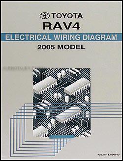 2005 Toyota RAV4 Wiring Diagram Manual Original