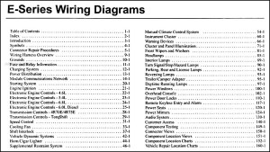 2006 Ford Econoline Van & Club Wagon Wiring Diagram Manual Original