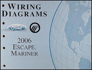 2006 Ford Escape & Mercury Mariner Wiring Diagram Manual