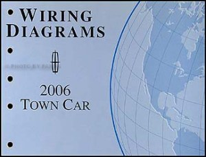 2006 Lincoln Town Car Original Wiring Diagrams