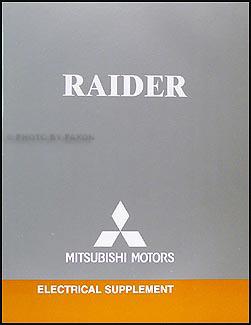 2006 Mitsubishi Raider Wiring Diagram Manual Original