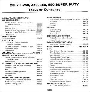 2007 Ford Super Duty F250 F350 F450 F550 Truck Repair Shop Manual Original Set