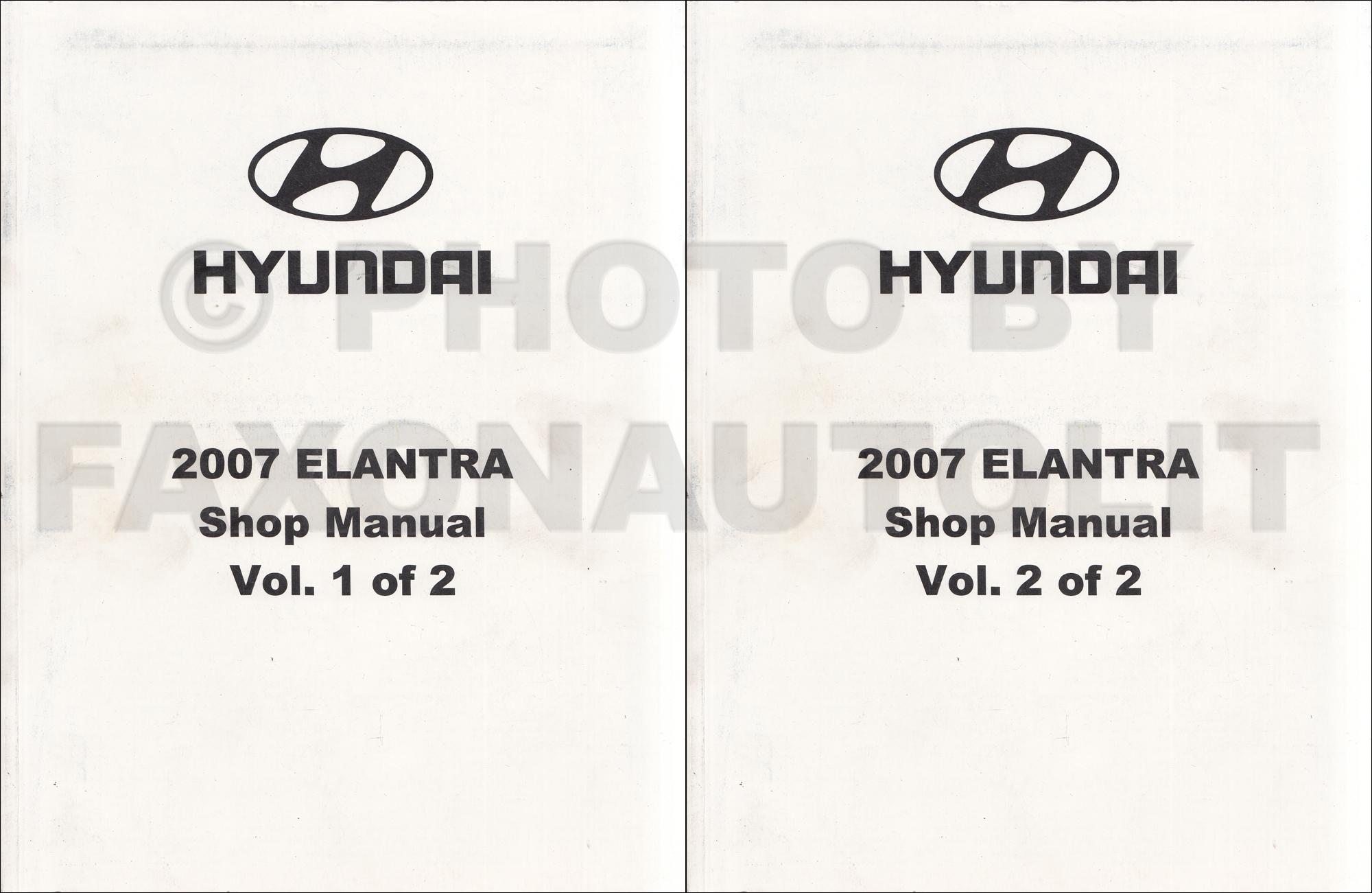Hyundai Elantra Electrical Troubleshooting Manual