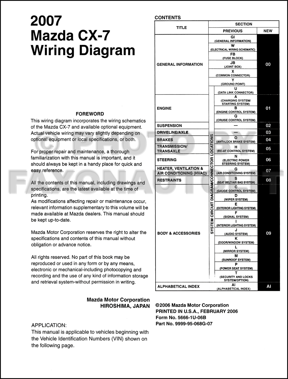 Mazda Cx 5 Radio Wiring Diagram
