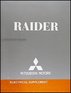 2007 Mitsubishi Raider Wiring Diagram Manual Original