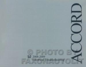 20082009 Honda Accord Electrical Troubleshooting Manual