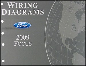 2009 Ford Focus Repair Shop Manual Original