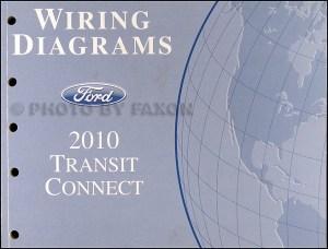 2010 Ford Transit Connect Wiring Diagram Manual Original