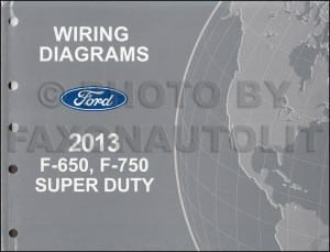 20132014 Ford F650 and F750 Super Duty Truck Wiring