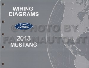 2013 Ford Mustang Wiring Diagram Manual Original