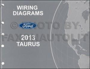 2013 Ford Taurus Repair Shop Manual on CDROM Original