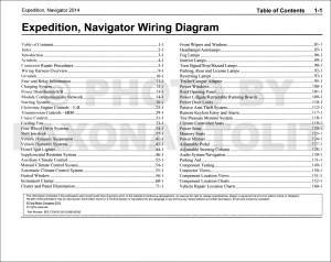 2014 Ford Expedition Lincoln Navigator Wiring Diagram