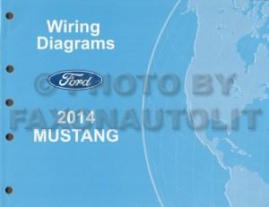 2014 Ford Mustang Wiring Diagram Manual Original