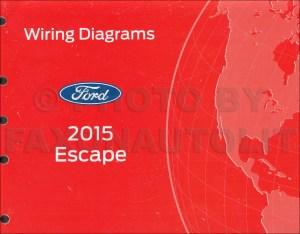 2015 Ford Escape Wiring Diagram Manual Original