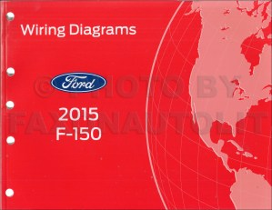 2015 Ford F150 Wiring Diagram Manual Original