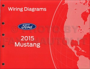 2015 Ford Mustang Wiring Diagram Manual Original