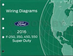 2016 Ford F250F550 Super DutyTruck Wiring Diagram Manual
