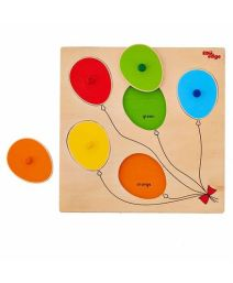 Eduedge Wooden Colour Balloons Puzzle - 5 Pieces