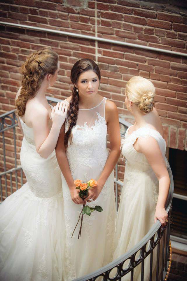 creating the bridal hairstyles of your dreams