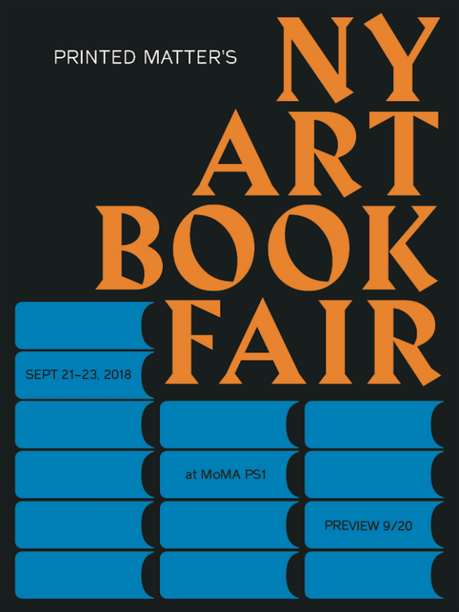 ny art book fair 2018 printed matter