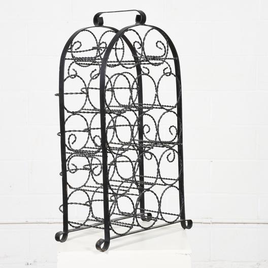 small black metal wine rack loveseat com san diego