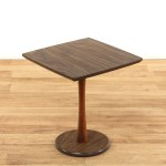 Mid Century Modern Pedestal End Table Plant Stand Loveseat Online Auctions Los Angeles