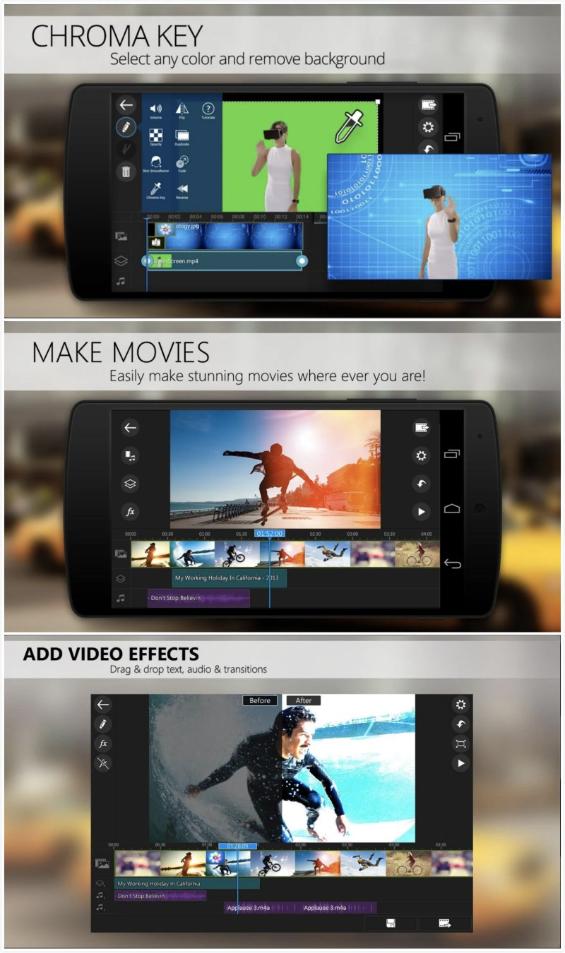 pd - Best Free Video Editing App For Android