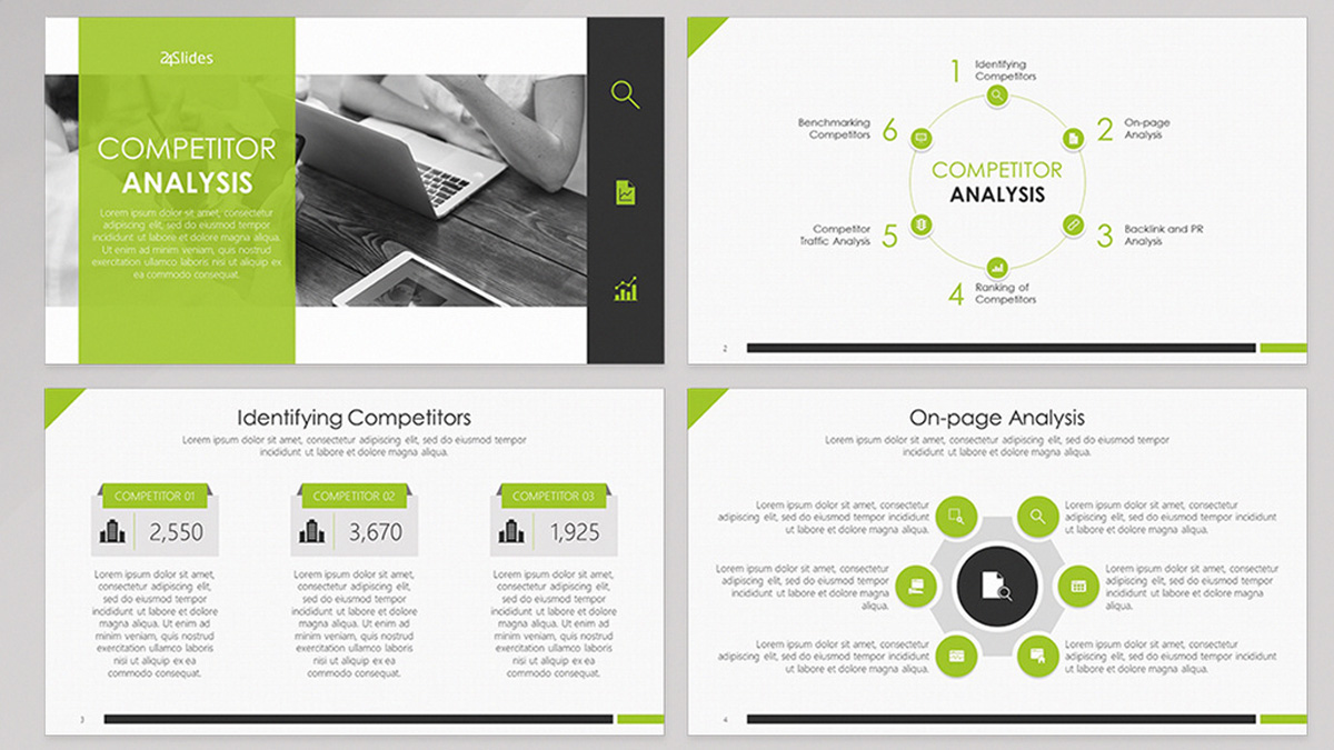 Download the creatively designed competitor profile ppt template to provide a detailed explanation of the competitors' profile to your team. 33 Amazing Free Powerpoint Templates Filtergrade