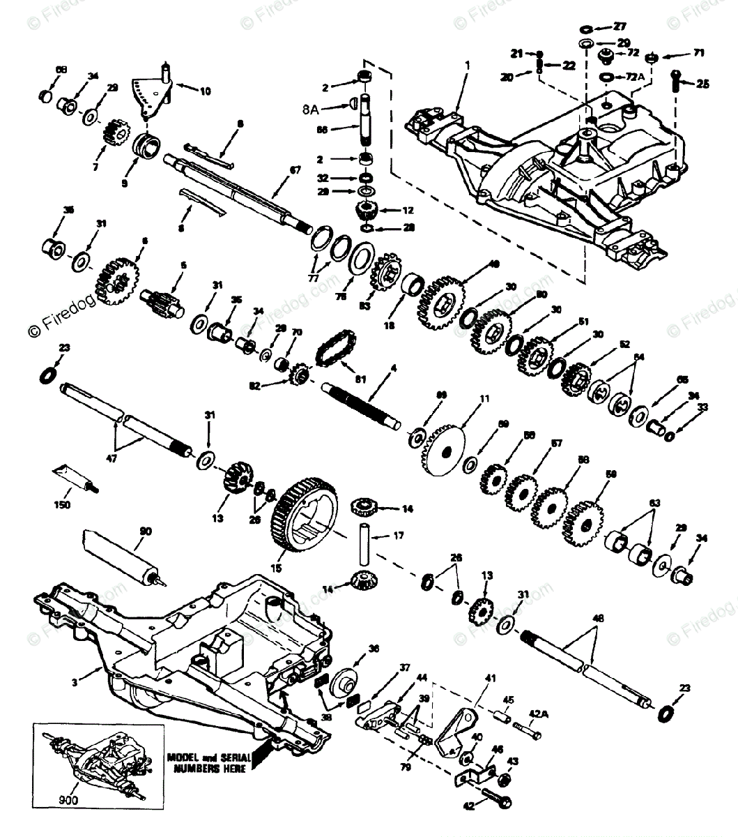 Husqvarna Ride Mower Lr 121 12 Oem Parts Diagram