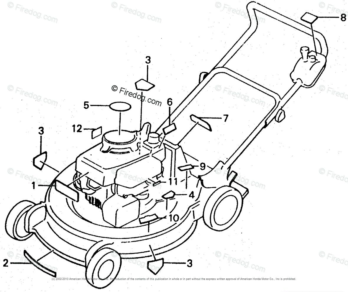 Honda Power Equipment Lawn Mower Hr21 Pda Lawn Mower Jpn