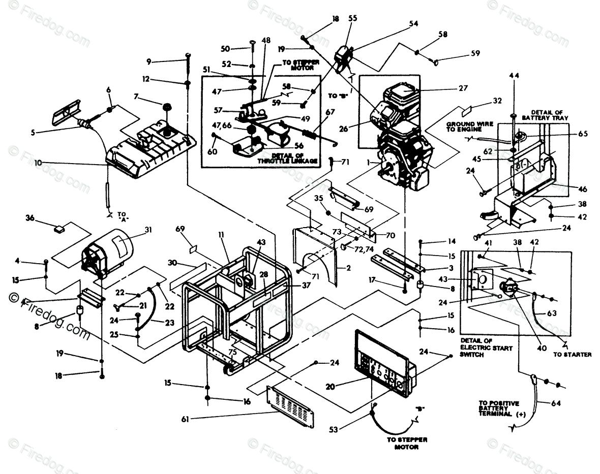30 Briggs And Stratton Generator Parts Diagram