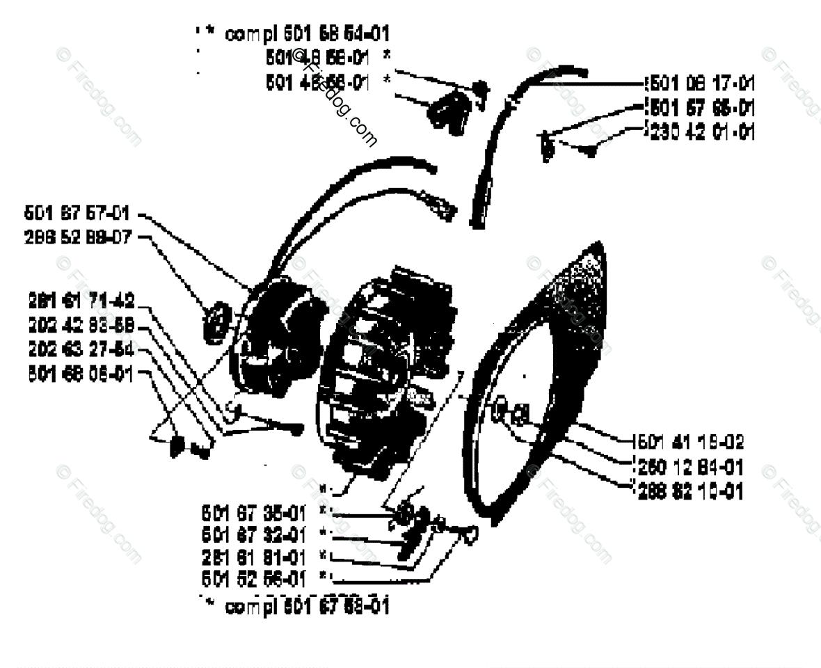 Husqvarna Chain Saw Cd 12 Oem Parts Diagram
