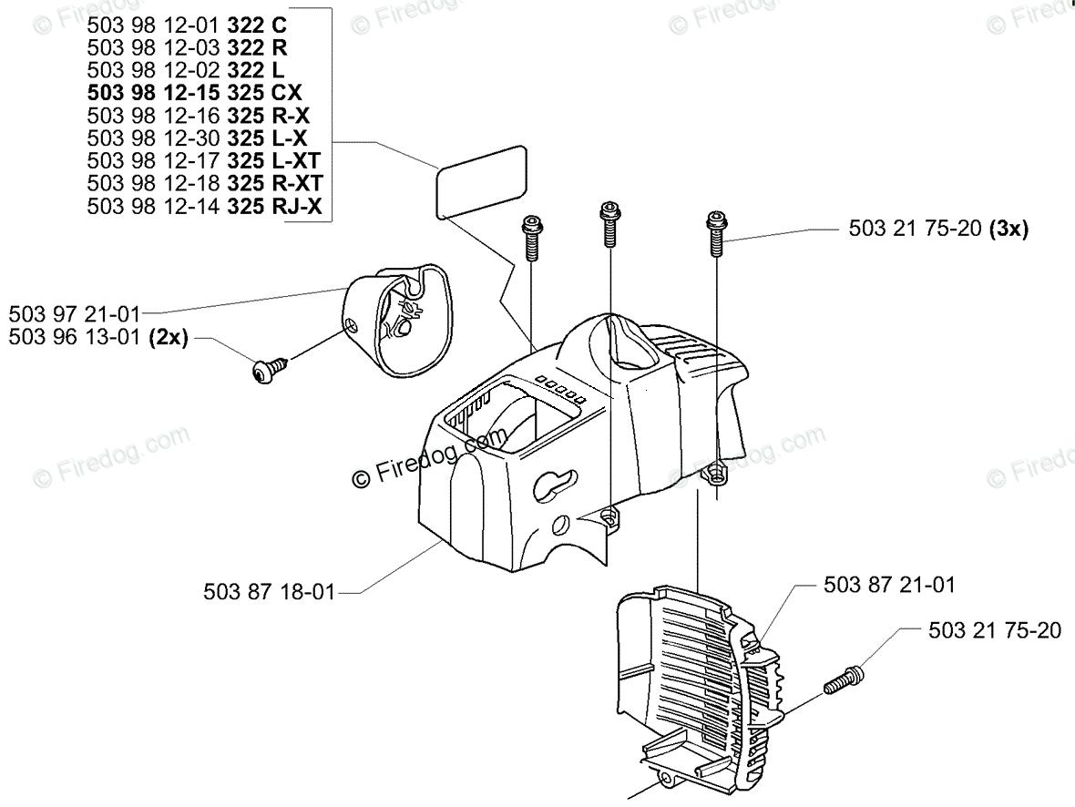 Husqvarna Line Trimmer 325 Lx 04 Oem Parts Diagram