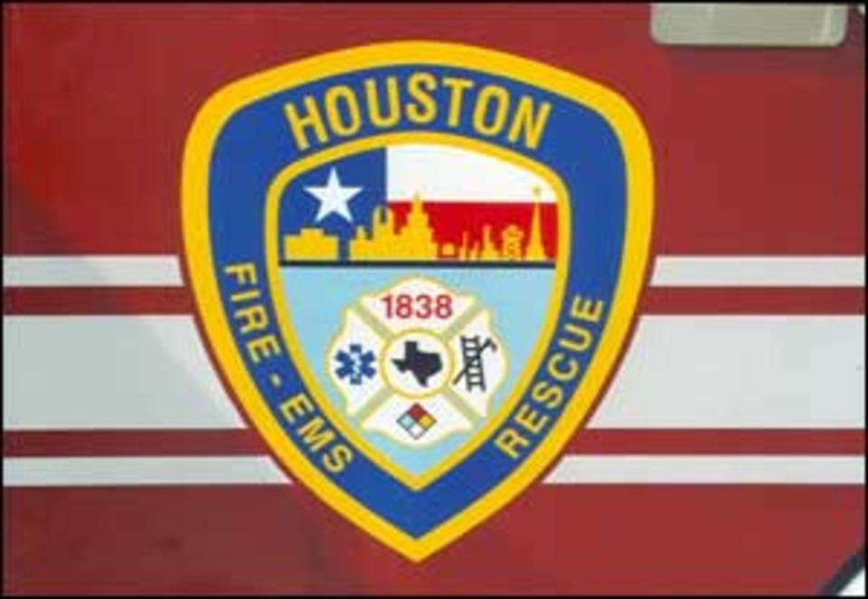 Houston Station Logo Fire