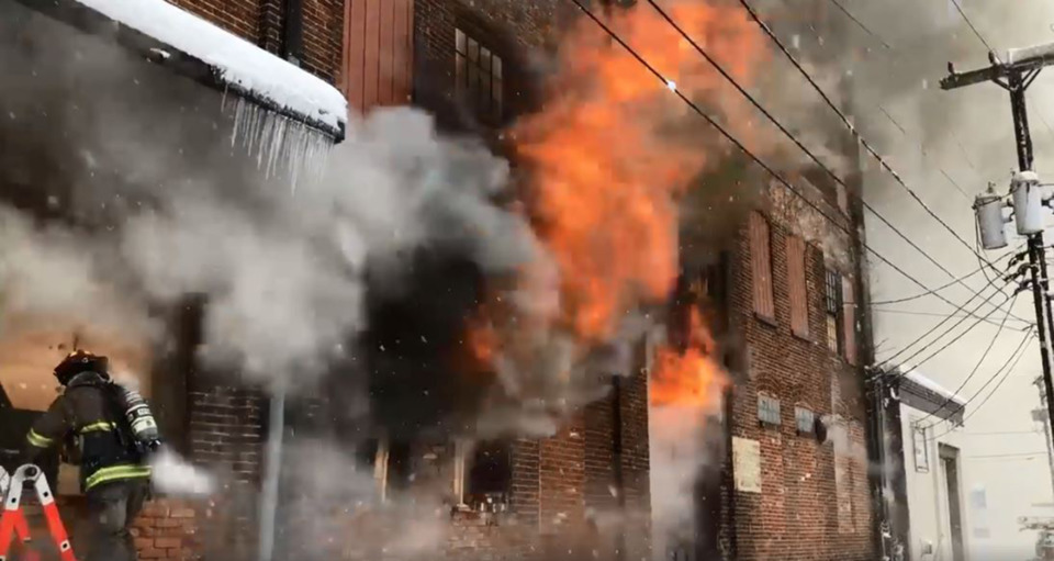 Two York Pa Firefighters Killed In Building Collapse At