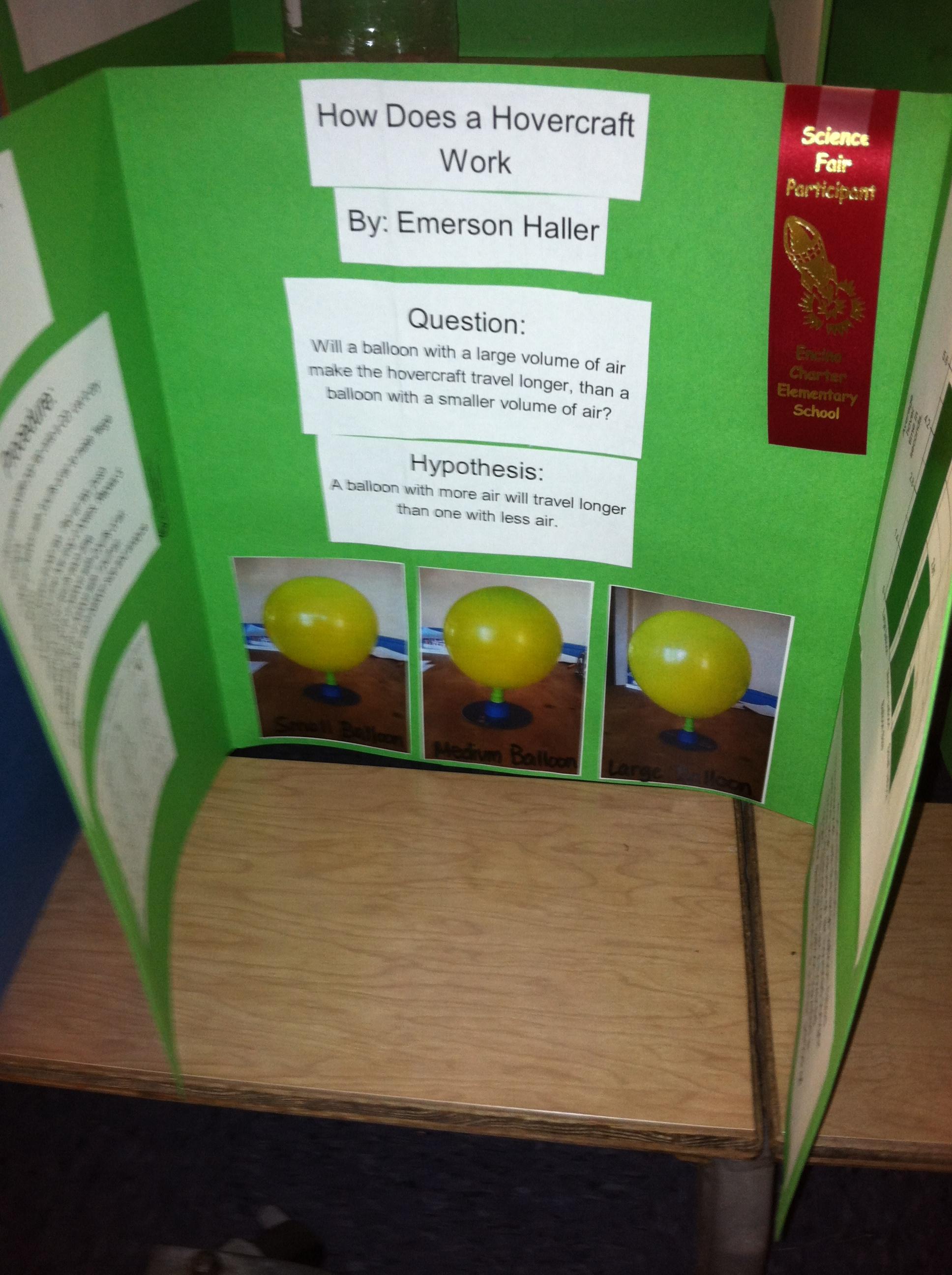 Encino Charter Elementary E Team Academics Science Fair Info