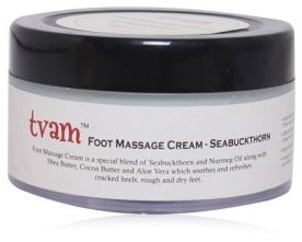 Tvam Foot Massage Cream - SeaBuckthorn