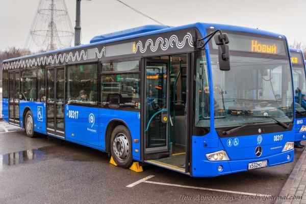 Новые автобусы для Москвы