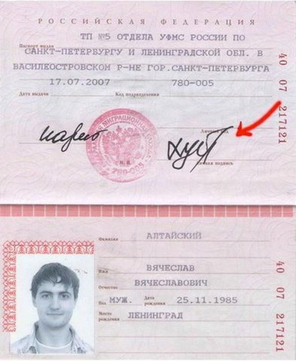 Образцы Росписи В Паспорте - Руководства, Инструкции, Бланки