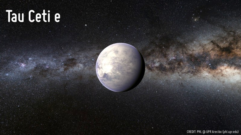 Tau Ceti e. Жизнь на других планетах, земля, космос