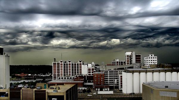 7. Жуткие облака красота, удивительное рядом, фото, фотошоп